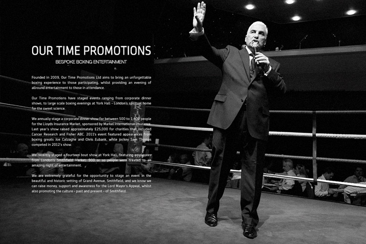 Brochure Design for Our Time Promotions