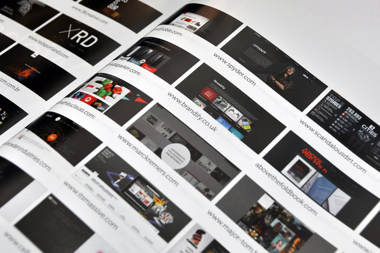 The Awwwards Book 2011 - Sites Listed by Colour