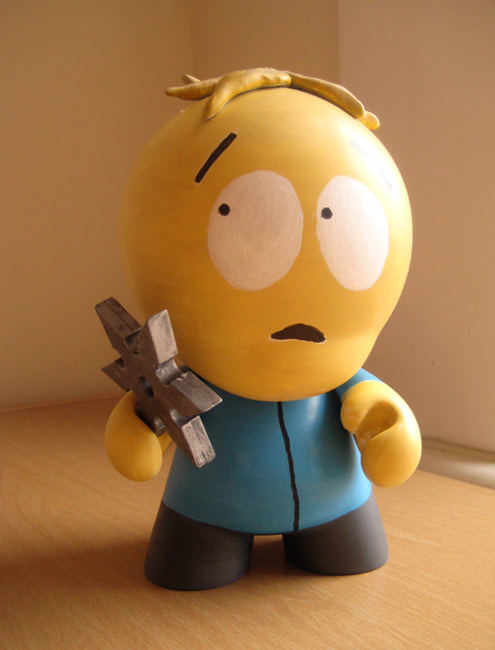 Completed Leopold 'Butters' Stotch Munny